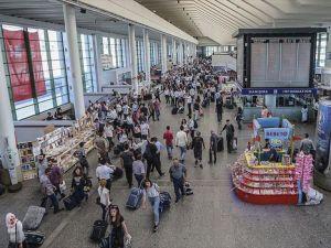 AŞTİ'nin 'bayram nüfusu' 1 milyonu aştı