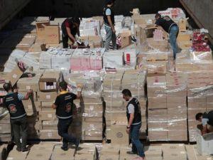 İstanbul Boğazı'nda 3 milyon 300 bin paket kaçak sigara yakalandı
