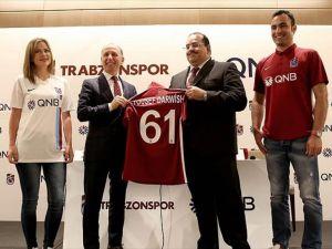 Trabzonspor Kulübüne Katar'dan sponsor