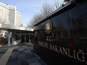 Dışişleri Bakanlığı: Türkiye Fransa ile tam bir dayanışma içindedir
