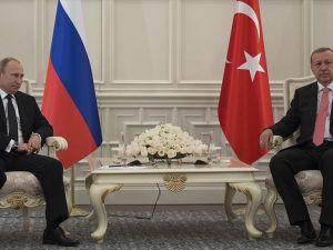 Erdoğan İle Putin Görüştü