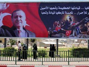 Gazze'den Türkiye'ye Destek