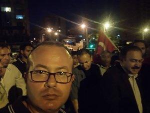Ekrem Huğlu Bakan Eroğlu ile bir arada