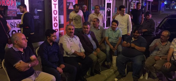 Konya Milletvekili Halil ETYEMEZ, demokrasi nöbetinde