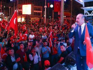 Dışişleri Bakanı Çavuşoğlu: Bunların Daiş'ten Pkk'dan Bir Farkı Yok