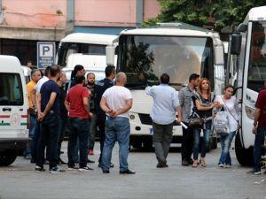 Bursa'da 45 Hakim Ve Savcı, Adliyeye Getirildi