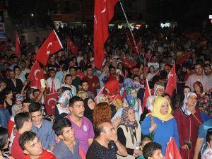 Mardin'de Fetö'nün Darbe Girişimi Protesto Edildi