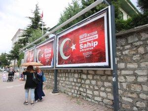 Beyşehir Belediyesi'nden 'demokrasi' seferberliği