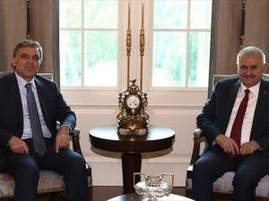 Başbakan Yıldırım, 11. Cumhurbaşkanı Gül İle Görüştü