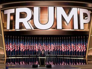 Trump Amerikan Halkına 'Kanun Ve Düzen' Vaat Etti