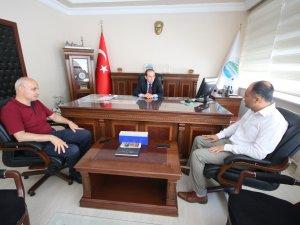 Özaltun'dan Beyşehir'in yeni kaymakamına ziyaret
