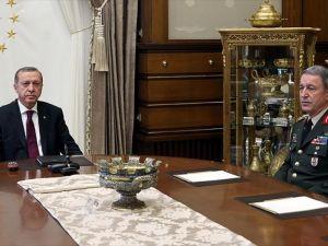 Cumhurbaşkanı Erdoğan Orgeneral Akar'ı Kabul Edecek