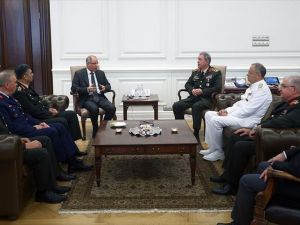 Genelkurmay Başkanı Akar Ve Kuvvet Komutanlarından Ala'ya Ziyaret
