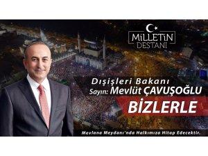Bakan Çavuşoğlu Konya'da