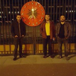 Önder Çiftçi ve arkadaşları Beştepe'de