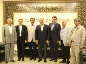 Bakan Çavuşoğlu'ndan Cihanbeyli'ye ziyaret