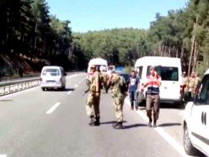 Marmaris'te aranan darbeci askerlerden 7'si yakalandı