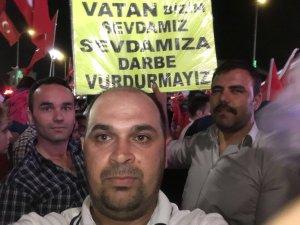 Kemal Dığrak, Mustafa Yer ile İsmail Ak nöbette