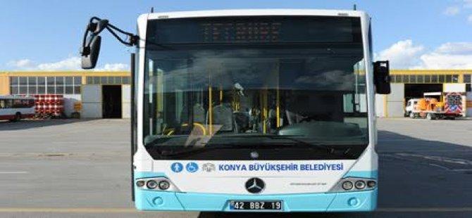 Konya'da ulaşım ne zamana kadar ücretsiz?