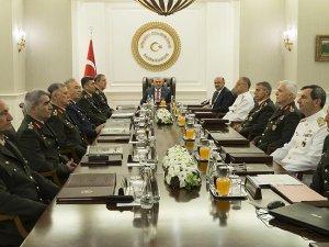 Yüksek Askeri Şura toplandı