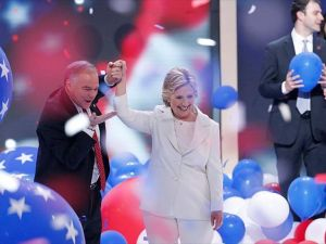Hillary Clinton Demokrat Parti Adaylığını Kabul Etti