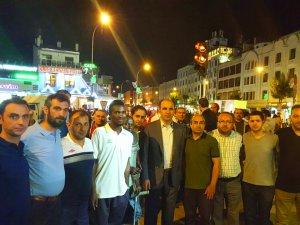 Ampute Futbol takımı Başkan Altay ile birlikte