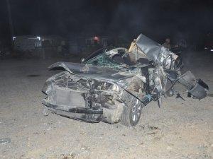 Akşehir'de trafik kazası: 1 ölü, 2 yaralı
