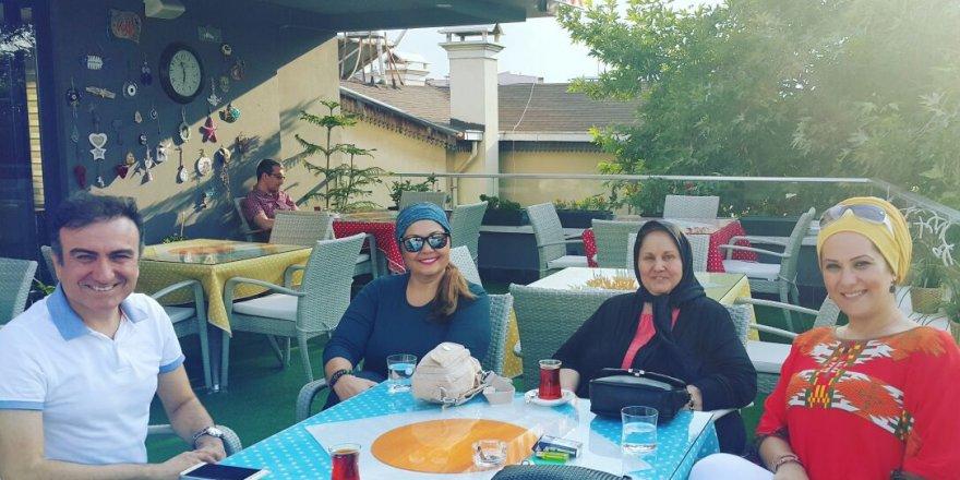 Mehtap Bayraktar ve Mehmet Portakal dostluğu
