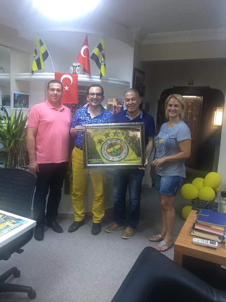 Mustafa İbalı Antalya'da Fenerbahçelilerle
