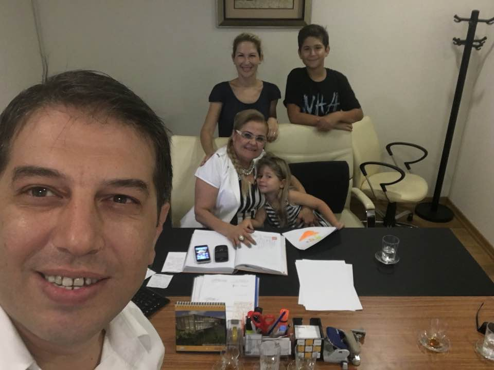 Torun ailesi ASAT Genel Müdürlüğü'nde