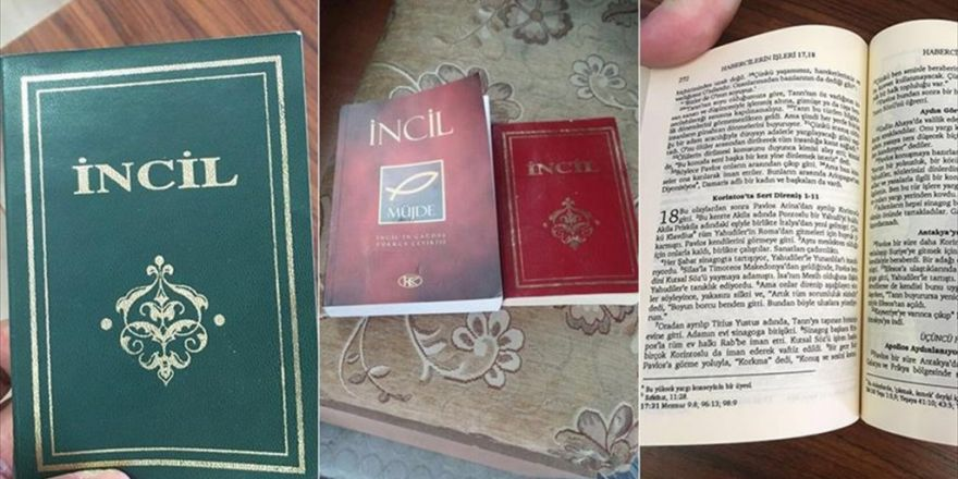 Fetö 'Bölge İmamı'nın Evinde İncil Bulundu