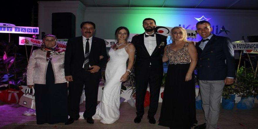 Büşra ve Mehmet Ali'nin mutlu günü