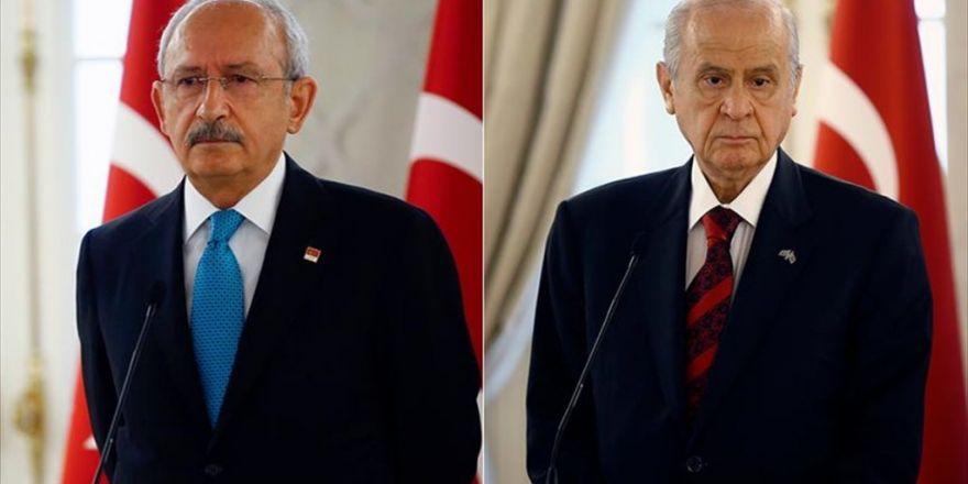 Erdoğan, Kılıçdaroğlu İle Bahçeli'ye Açtığı Tazminat Davalarını Geri Çekti