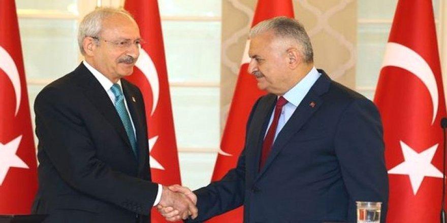 Kritik görüşme! Başbakan CHP Genel Merkez'de