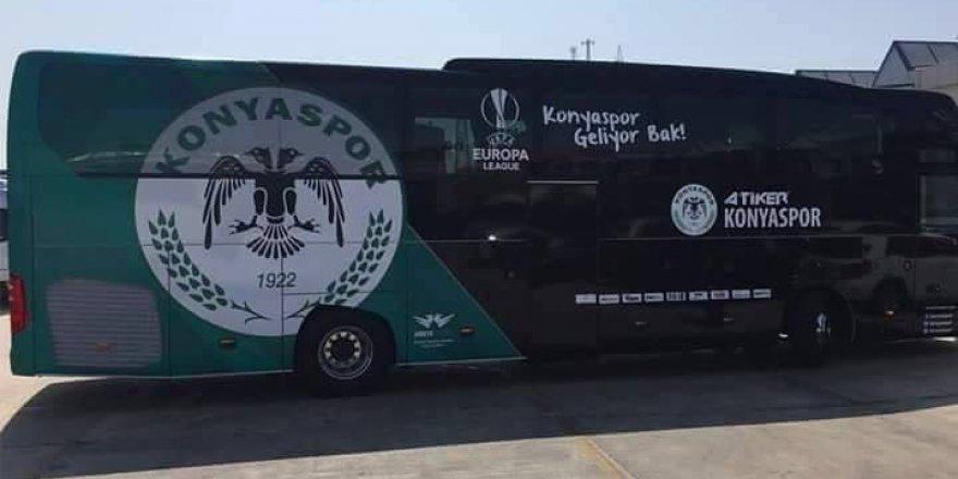 İşte Konyaspor'un yeni otobüsü