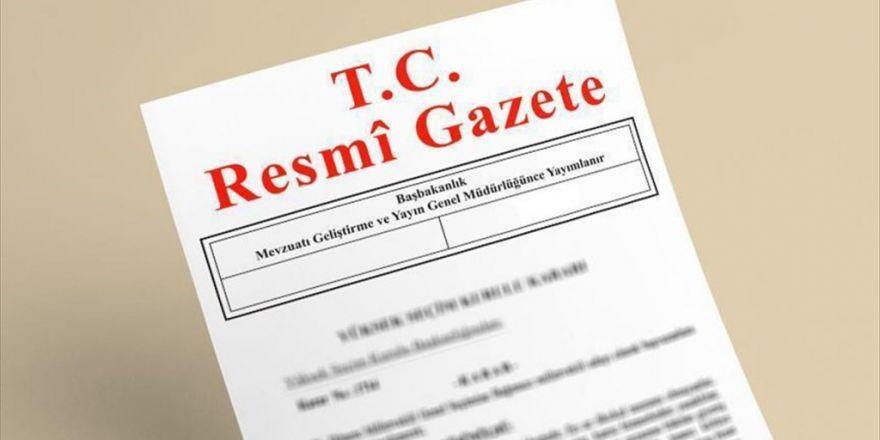 Atama Ve Görevden Almalar Resmi Gazete'de