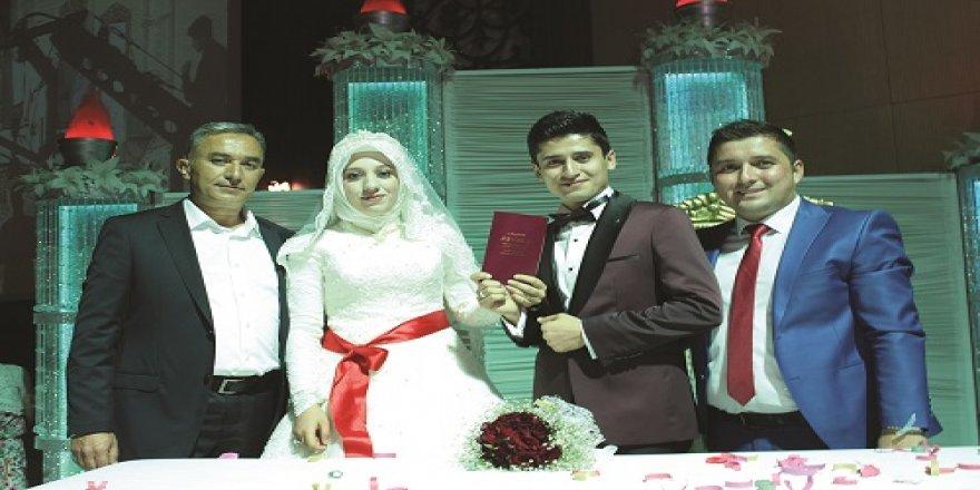 Elif Mest ile ve Osman Can evlendi