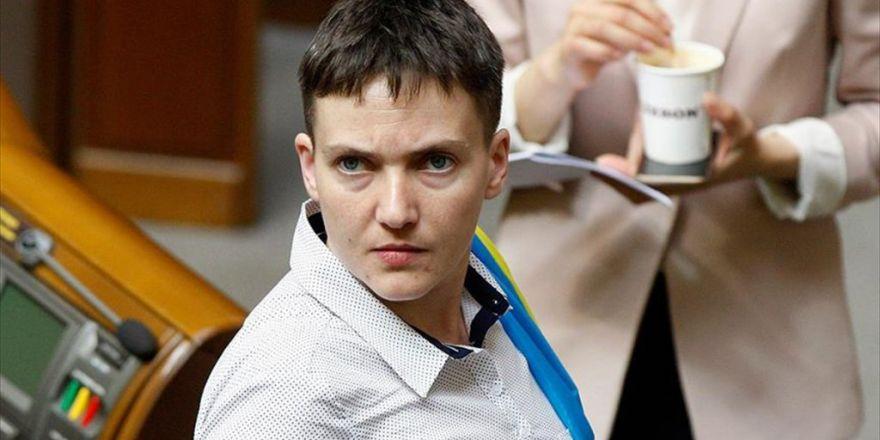 Ukraynalı Milletvekili Savçenko Yeniden Açlık Grevine Başladı