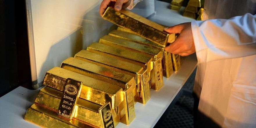Temmuzda 4,9 Ton Altın İthal Edildi