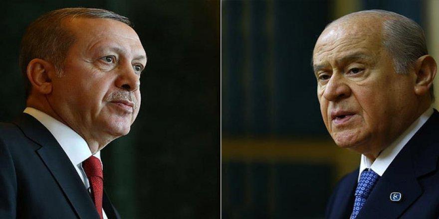 Erdoğan, Devlet Bahçeli'yi retweetledi