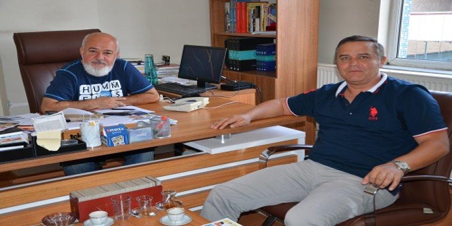 Mehmet Şafakçı'dan PUSULA'ya ziyaret