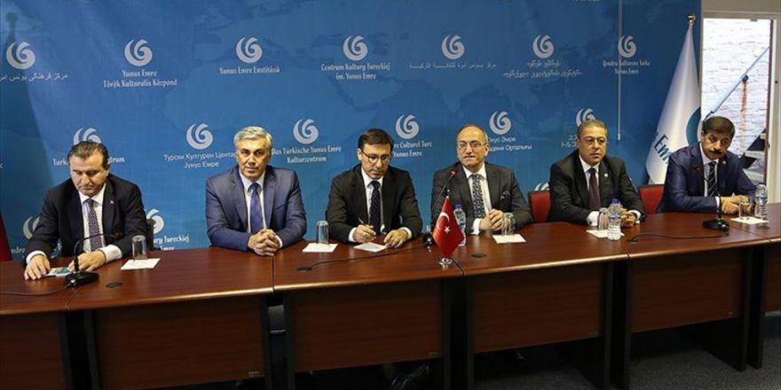Tbmm Dışişleri Komisyonu Heyeti Londra'da Türklerle Buluştu