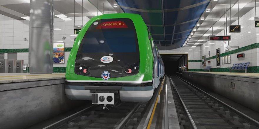 Konya Metrosunda son durum