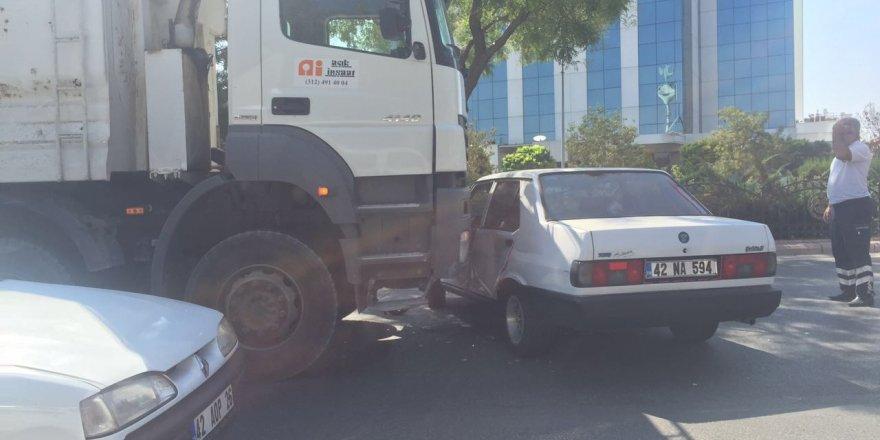 Beyşehir Çevre Yolu'nda Kaza