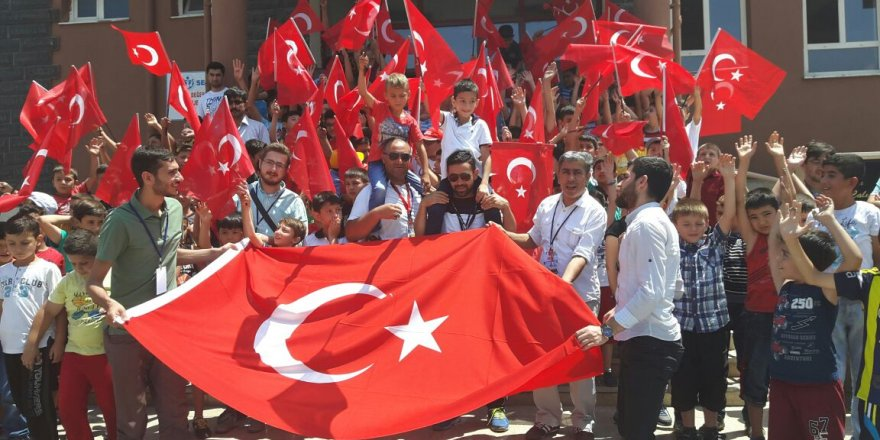Ramazan Umut Candan ve Dumlupınar KOMEK öğrencileri Meydanda