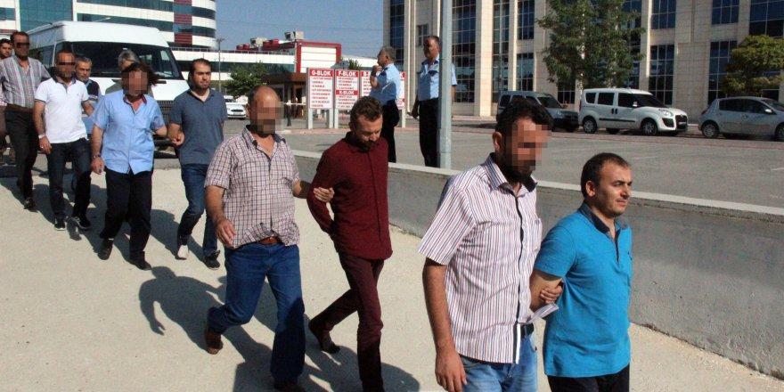 Konya'da FETÖ İmamları adliyede