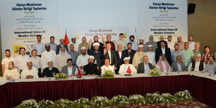 Dünya Müslüman Alimler Birliği Toplantısı sona erdi