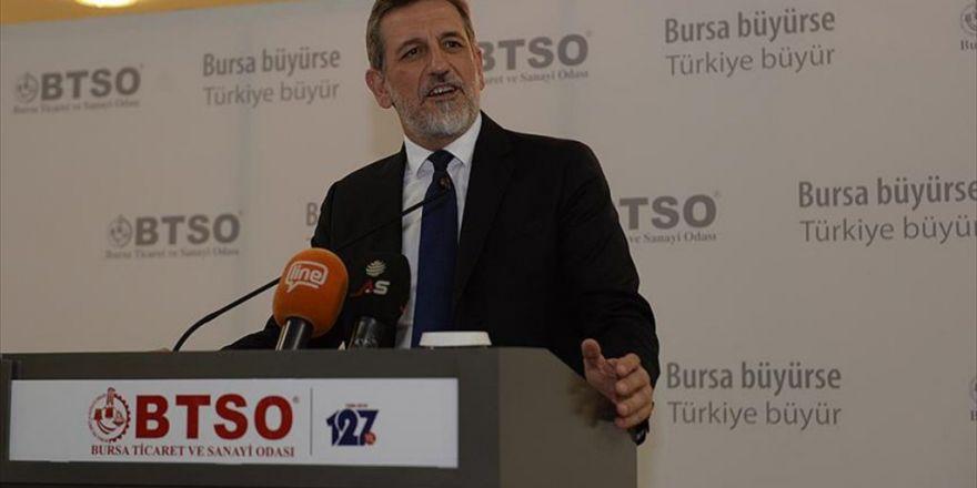 Btso'dan '15 Temmuz Dayanışma Kampanyası'na 1 Milyon Liralık Destek