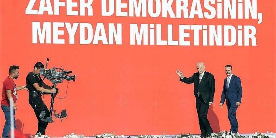 Mhp Genel Başkanı Bahçeli: Türkiye'mizin Şahlanışını Gururla İzliyorum
