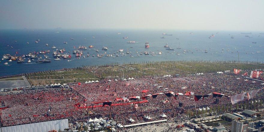 5 milyon kişi katıldı